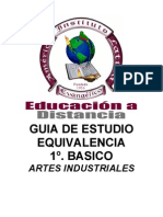 1B Equivalencia Artes Industriales