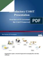 Cobit Introduction Presentation