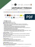Programma LampedusaInFestival 2013