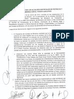 Acta de reunión de alcaldes de Pativilca y Paramonga con el Poder Ejecutivo