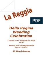 Della Regina Wedding Reception