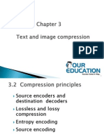 Text and image compression
