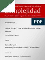 Complejidad+-+Edición+Especial+-+Pensar+Europa+-+Mayo+2012