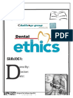 Principle Features of Dental Ethics (1) (1)