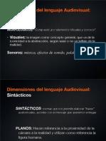 Lenguaje Audiovisual - Planos