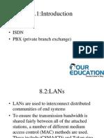 PSTN, PBX (private branch exchange)