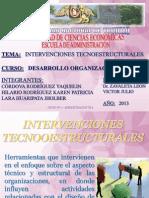 Intervenciones Teconoestructurales Terminado