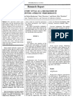 Explanatory Style as a Mechanism of Disappointing Athletic Performance