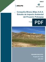 Estudio Impacto Ambiental Pukacaca
