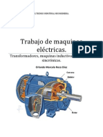 Trabajo de maquinas eléctricas