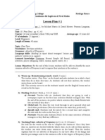 Lesson Plan #1 - Challenges 1/U10:Free Time
