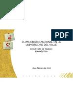 Informe Encuesta Clima Organizacional Feb 2012