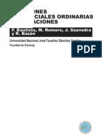 Ecuaciones Diferenciales Orinarias y Aplicaciones