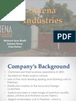 Sarena Industries