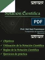 3 Notación científica
