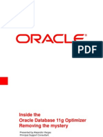 Inside the Oracle 11g Optimizer