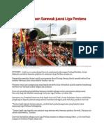 5,000 Rai Kejayaan Sarawak Juarai Liga Perdana