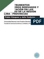 Los Instrumentos Financieros Derivados y su Aplicación en las Empresas de la Región Lima-provincias