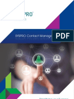 SYSPRO - Contact Management Brochure