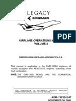 Embraer Emb-135bj Aom Vol. 2 Aom