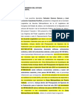 Iniciativa Acuerdo Fondos Metropolitanos