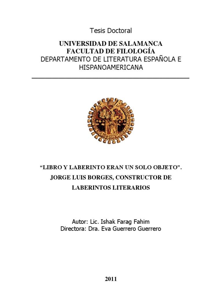 583e682010 FARAG FAHIM_Libro y Laberinto Eran Un Solo Objeto