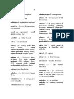 Dictionar Roman Englez de Termeni Economici