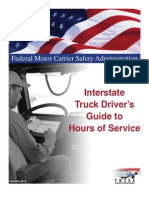 Interstate Truck Driver Guide to HOS 508