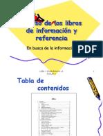 9. Uso de los libros de información y referencia