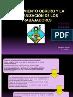 Ericka Camano El Movimiento Obrero y La Organizacion de Los Trabajadores