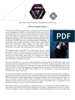 New World Order (Technocratic Convention; Mage the Ascension)