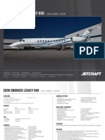 2008 Legacy 600 1451064 Available Thru Jetcraft