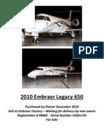 G-RBND Legacy 650 Spec