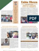 Unión Obrera Julio 2013