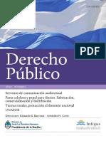 Revista Derecho Público (Año 1, n° 1)