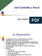 Depreciacion Contable y Fiscal