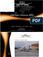 1984 Pipe Cheyenne 400LS YV