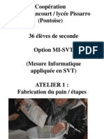 Compte-rendu Bilan Fabrication PAIN
