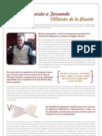 Entrevista a Fernando Villarán de la Puente, Decano de la Facultad de Ingeniería y Gestión de la Ruiz de Montoya