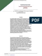 Metacognicion definición y teoria rev