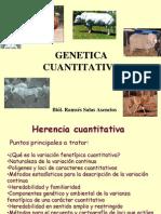 GENETICA CUANTITATIVA