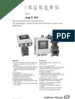 Med Caudal Proline Promag D400 EH