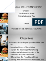 Elective 103 - FRANCHISING Chapter 1 Upload