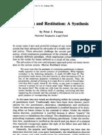 Ferrara - Retribution and Restitution