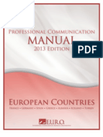 Professional Communication Manual for European Countries