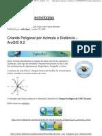 (Criando Poligonal por Azimute e Distância – ArcGIS 9.2 « Sadeck – Geotecnologias).pdf