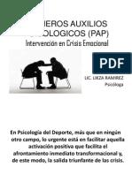 Primeros Auxilios Psicologicos (Pap)