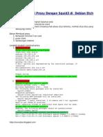 Cara konfiguras iSquid 3 di Debian etch