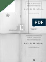 241(083) TP(31) Hacia La Fe Catolica 31