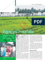 Digging gold in rural India